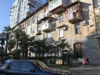 Сочи, Строительный переулок, дом 4. многоквартирный дом