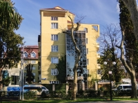 Сочи, улица Бестужева, дом 8. гостиница (отель) АЛЬМИРА