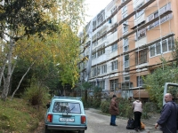 Sochi, Golubye dali st, house 11. Apartment house