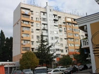 Sochi, Golubye dali st, house 34. Apartment house with a store on the ground-floor