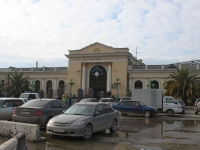 Sochi, Lenin st, house 113. railway station