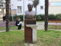 Sochi, monument А.П. ПапафанасопулоKirov st, monument А.П. Папафанасопуло