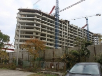Sochi, Kirpichnaya st, house 4А. building under construction