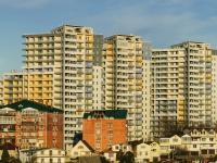 Сочи, улица Кирпичная (Адлер), дом 2 к.3. многоквартирный дом