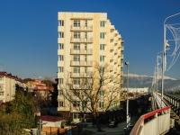 Сочи, улица Мира (Адлер), дом 1. многоквартирный дом