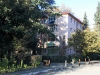 Сочи, Ереванский (Адлер) переулок, дом 11А. многоквартирный дом