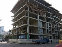 Sochi, Kuybyshev st, house 21. building under construction