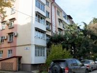 Сочи, улица Революции (Адлер), дом 15. многоквартирный дом