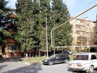 Sochi, Sverdlov st, house 73. Apartment house