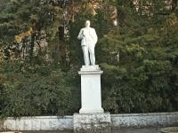Сочи, улица Платановая. памятник В.И. Ленину