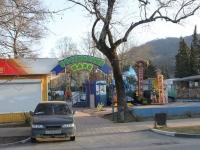 Сочи, улица Платановая. парк Хостинский