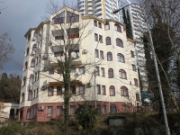 Сочи, улица Есауленко, дом 3А. многоквартирный дом