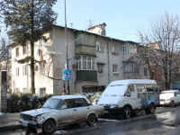 Sochi, Truda st, house 3. Apartment house