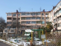 Sochi, Truda st, house 18. Apartment house