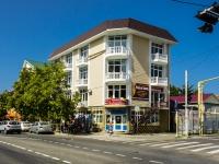 Сочи, улица Калараш (п. Лазаревское), дом 93. жилой дом с магазином