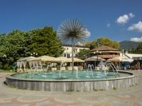 Sochi, st Pobedy. fountain