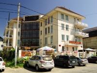 Сочи, улица Единства (п. Лазаревское), дом 13. многоквартирный дом