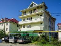 """Сочи, улица Единства (п. Лазаревское), дом 4. гостиница (отель) """"Камелия"""""""