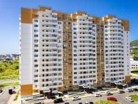 Сочи, улица Малышева (п. Лазаревское), дом 3. многоквартирный дом