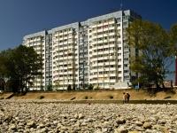 Сочи, улица Малышева (п. Лазаревское), дом 5. многоквартирный дом