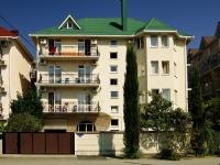 Сочи, улица Тормахова (п. Лазаревское), дом 11. многоквартирный дом