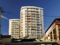 Sochi, alley Bogdan Khmelnitsky, house 8. Apartment house