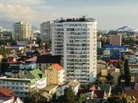 Sochi, alley Bogdan Khmelnitsky, house 10. Apartment house