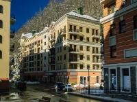 Сочи, улица Каменка (п. Красная Поляна), дом 1. гостиница (отель) Valset Apartments by HELIOPARK