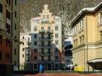 Сочи, улица Каменка (п. Красная Поляна), дом 2. гостиница (отель) Valset Apartments by HELIOPARK