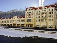 Сочи, набережная Лаванда (п. Красная Поляна), дом 1. многофункциональное здание