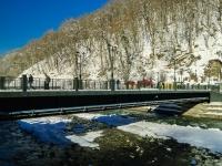 Сочи, набережная Лаванда (п. Красная Поляна). мост Пешков