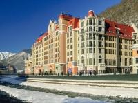 Сочи, набережная Панорама (п. Красная Поляна), дом 3. гостиница (отель) Golden Tulip