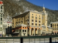 Сочи, площадь Роза (п. Красная Поляна), дом 1. гостиница (отель)