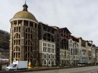 Сочи, набережная Времена Года (Красная Поляна), дом 11 к.2. гостиница (отель)