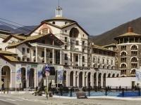 Сочи, улица Горная Карусель (Красная Поляна), дом 2. гостиница (отель) Gorki Plaza