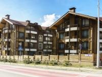 Сочи, улица Защитников Кавказа (Красная Поляна), дом 9. многоквартирный дом