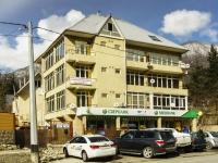 Сочи, улица Защитников Кавказа (Красная Поляна), дом 19. многофункциональное здание