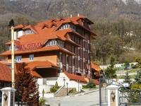 Сочи, улица Защитников Кавказа (Красная Поляна), дом 77. гостиница (отель) Пик отель, гостиничный комплекс