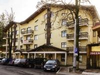 Сочи, улица Трудовой Славы (п. Красная Поляна), дом 4. гостиница (отель)