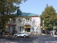 Анапа, улица Ленина, дом 22. жилой дом с магазином
