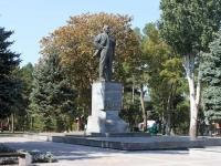 Анапа, улица Протапова. памятник В.И.Ленину