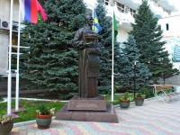 Анапа, улица Пушкина. памятник В.А. Будзинскому