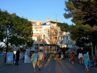 Анапа, гостиница (отель) Адмирал, Кордонный переулок, дом 1А