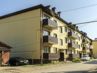 Хадыженск, улица Аэродромная, дом 5 к.3. многоквартирный дом