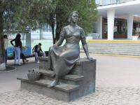 Yeisk, monument Н.МордюковойLenin st, monument Н.Мордюковой