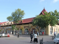 Yeisk, Sverdlov st, house 85. market