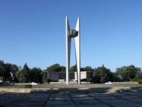 Ейск, площадь Революции. мемориальный комплекс Павшим воинам