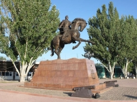 Yeisk, monument М.С.ВоронцовуNizhnesadovaya st, monument М.С.Воронцову