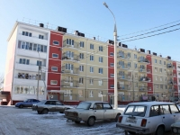 Krymsk, Belinsky st, house 37А. Apartment house