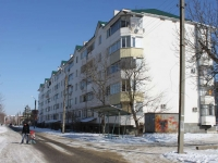 Krymsk, Voroshilov st, house 2. Apartment house